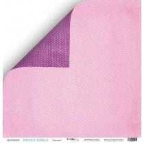 Лист двусторонней бумаги 30x30 от Scrapmir Девчонки из коллекции Sweet Girls  SM2500002