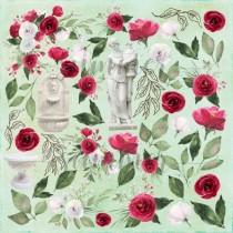 """Лист для вырезания """"Antique garden"""" коллекция """"Antique garden"""" 190гр,30,5*30,5см"""