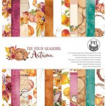 1/2 Набора бумаги The Four Seasons - Autumn, 30,5х30,5 см, 6л, пл.240г/м