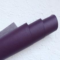 Отрез кожзама на тонкой тканевой основе 50х35 см., фиолетовый