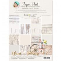 "1/2 Набора бумаги ""Wood Patterns 02"" 8 листов, размер A4 (21.5x29,7cm), пл.250 г/м2"