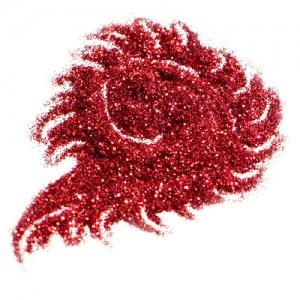 Блестки цветные 50мл Красный