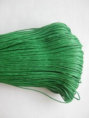 Шнур вощеный 1,2мм (зеленый) С239