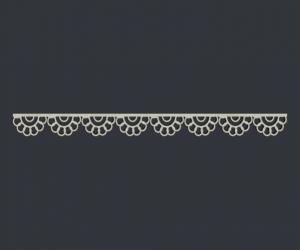 Ажурный бордюр №4 (15х1,2 см), CB133