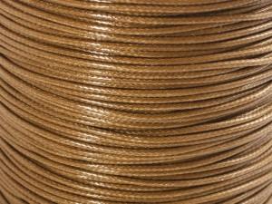 Шнур вощеный 1,2мм (светл/коричневый) 290 [С809]