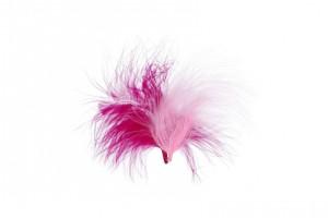 Перья декоративные  6 -  10 см 3 г ± 0.5 г  PLU-03-05 Розовый (ассорти)