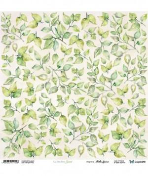 Лист для вырезания Leaves 30,5х30,5 см., пл.250 гр.